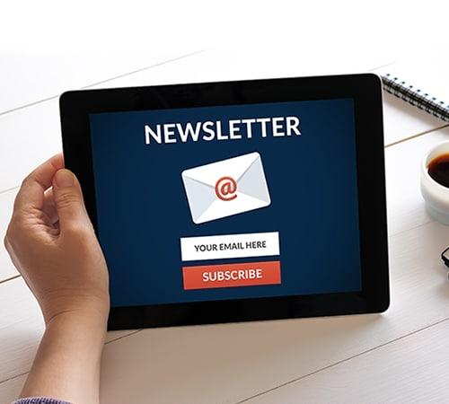 Leistungen Newsletter